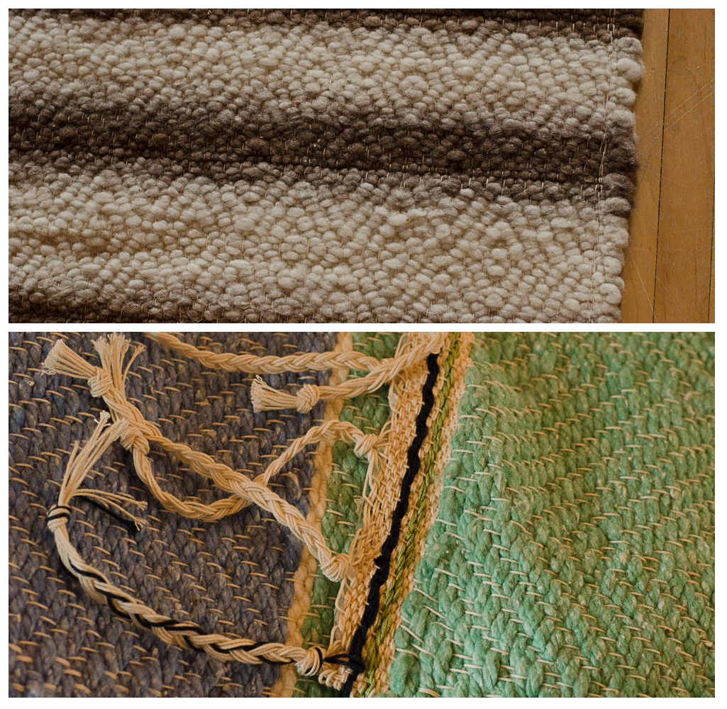 Bonnie and Elin's rugs