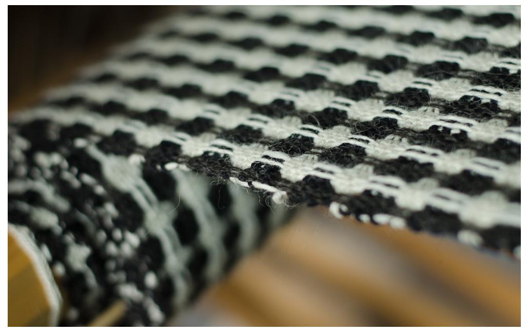 spot weave fabric