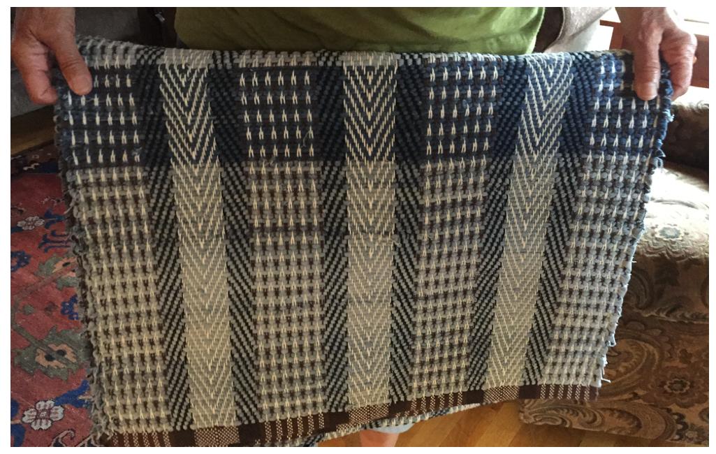 Anita's first rug
