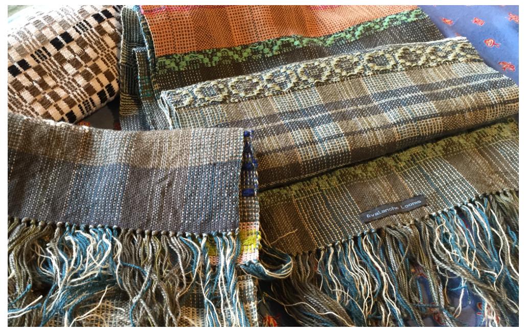 Susan's scarves