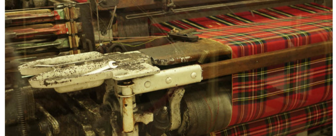 The Tartan weaving mill