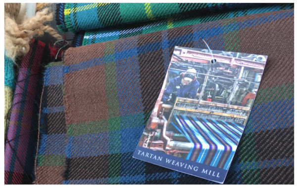 tartans from Edinburgh