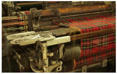 The Tartan weaving mill