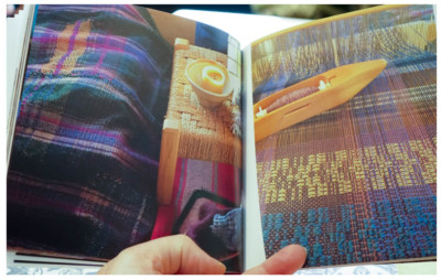 a weavers book