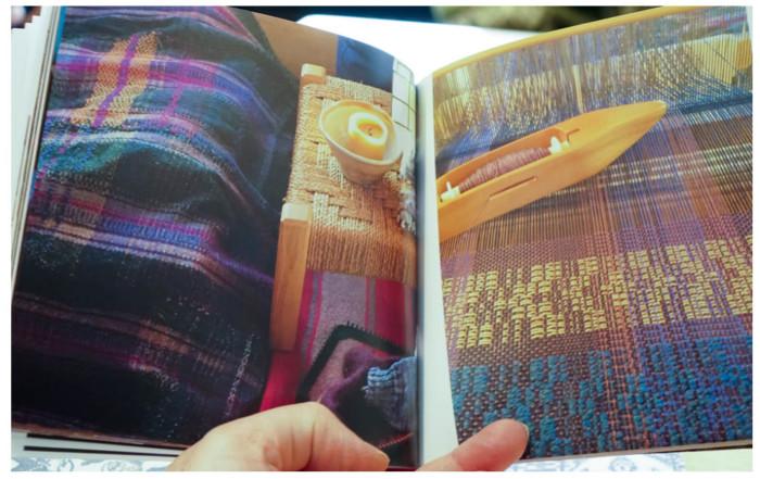 a weavers book