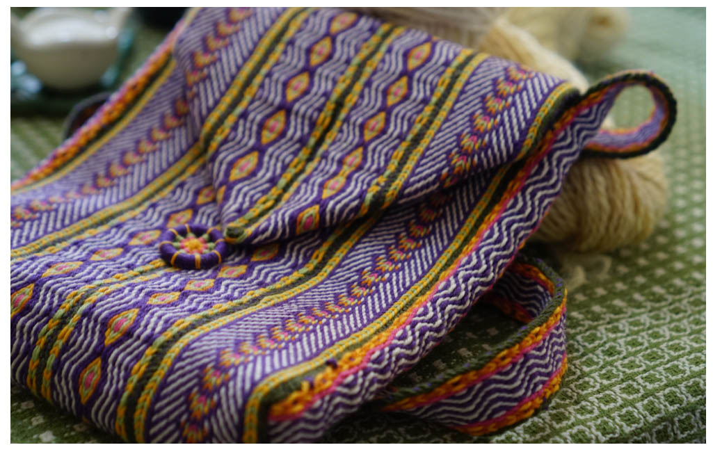 Barb B's inkle woven purse